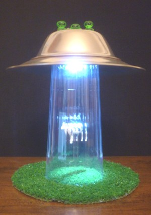 Great Alien Abduction Lamp